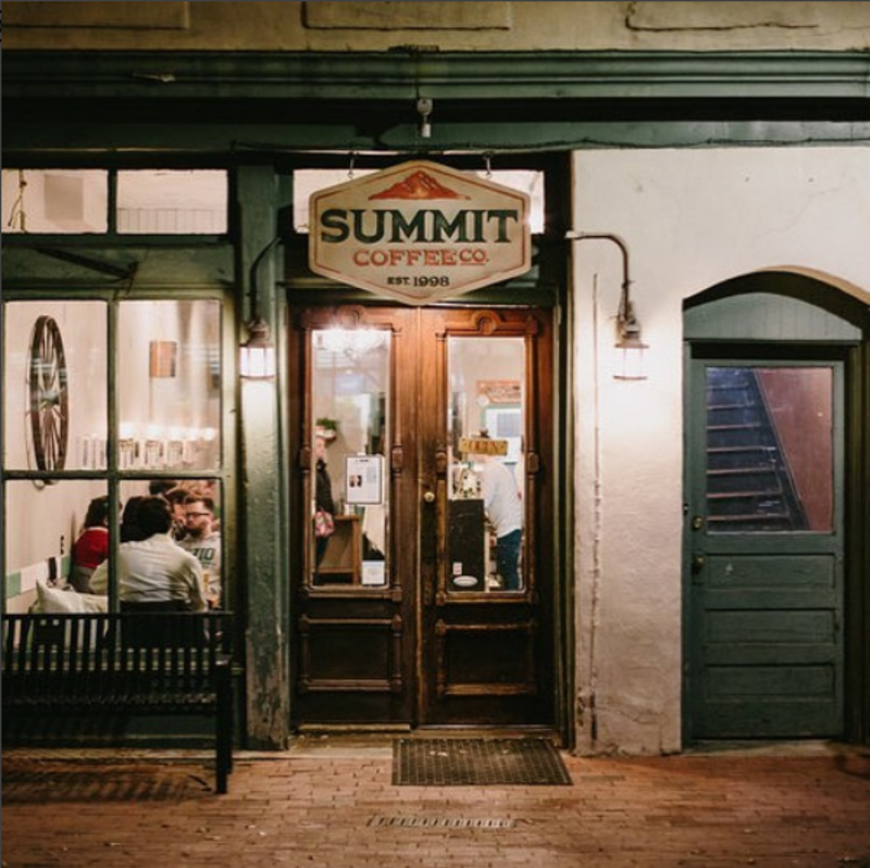 Summit Coffee Entrance