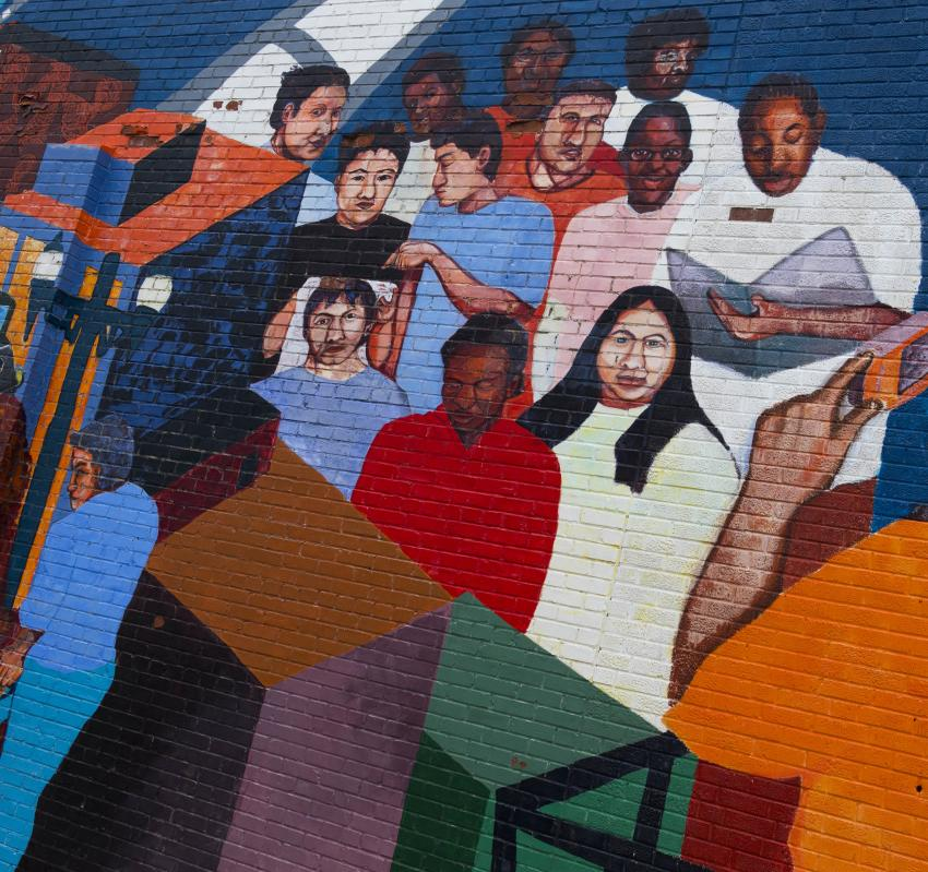 Avenue Chronicles Mural