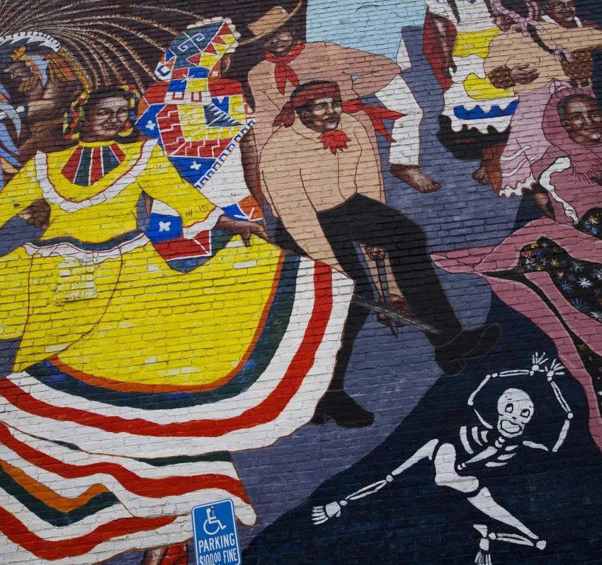El Baile de la Vida mural