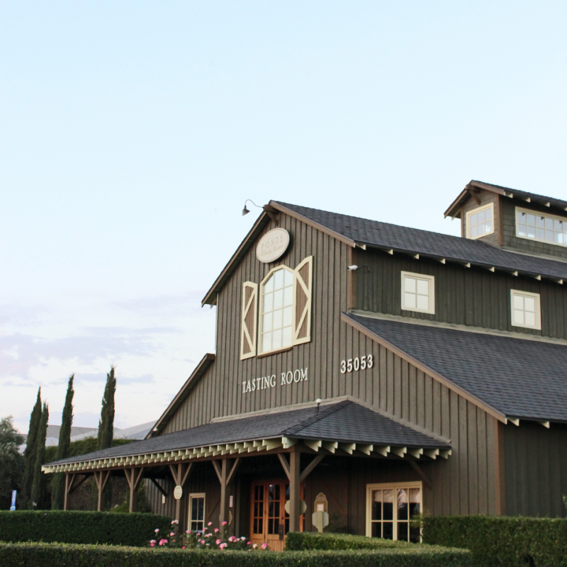 Tasting Room - Ponte Family Estate Winery