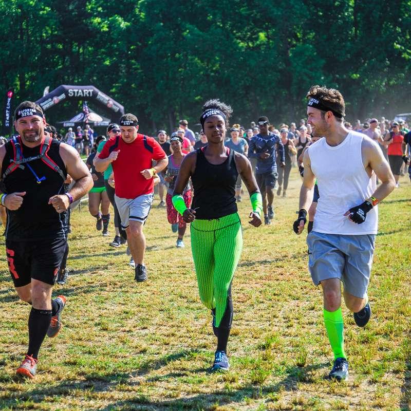 Fayetteville Spartan Trail 10K Night Run