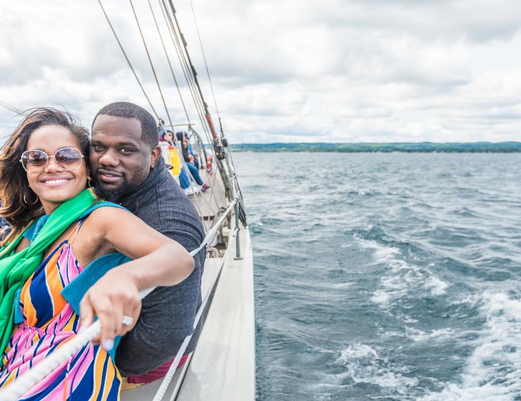 Sailing on the Tall Ship
