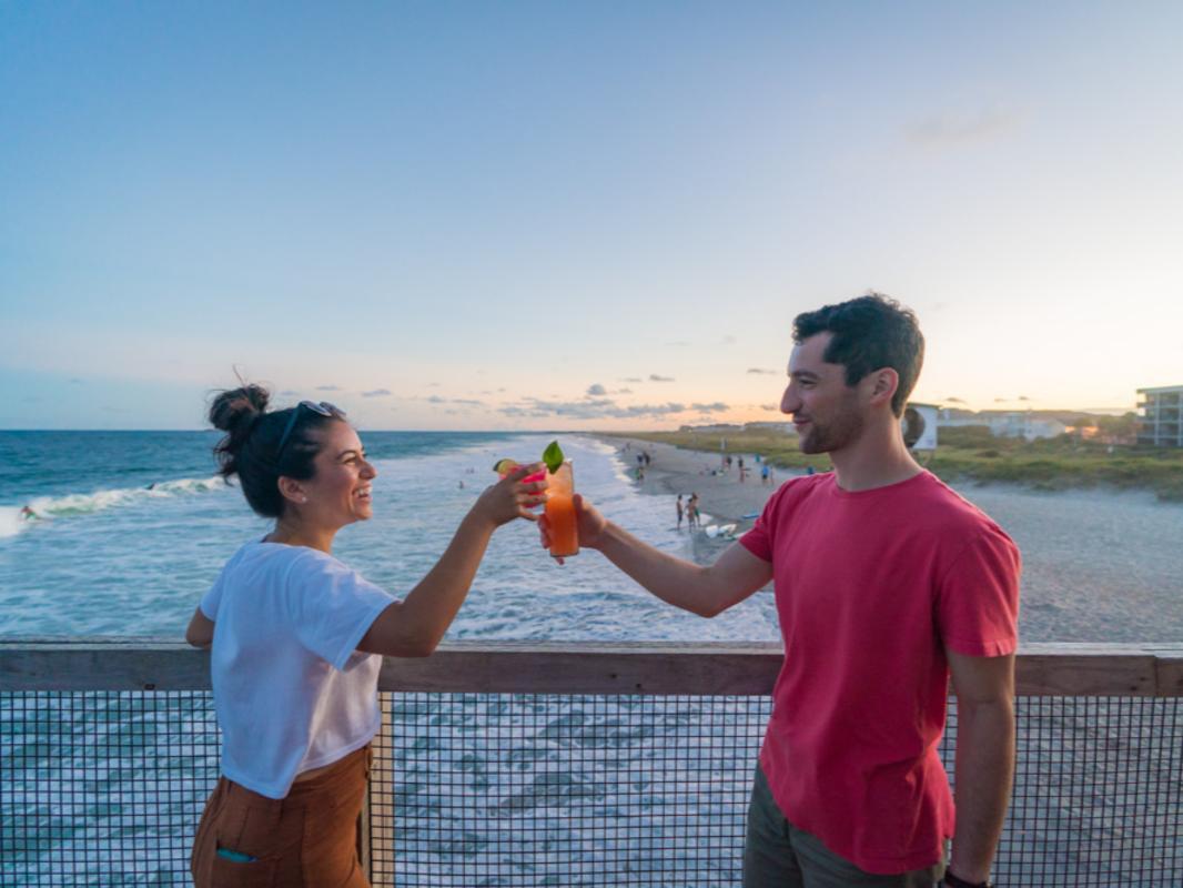 Oceanic Drinks on Crystal Pier