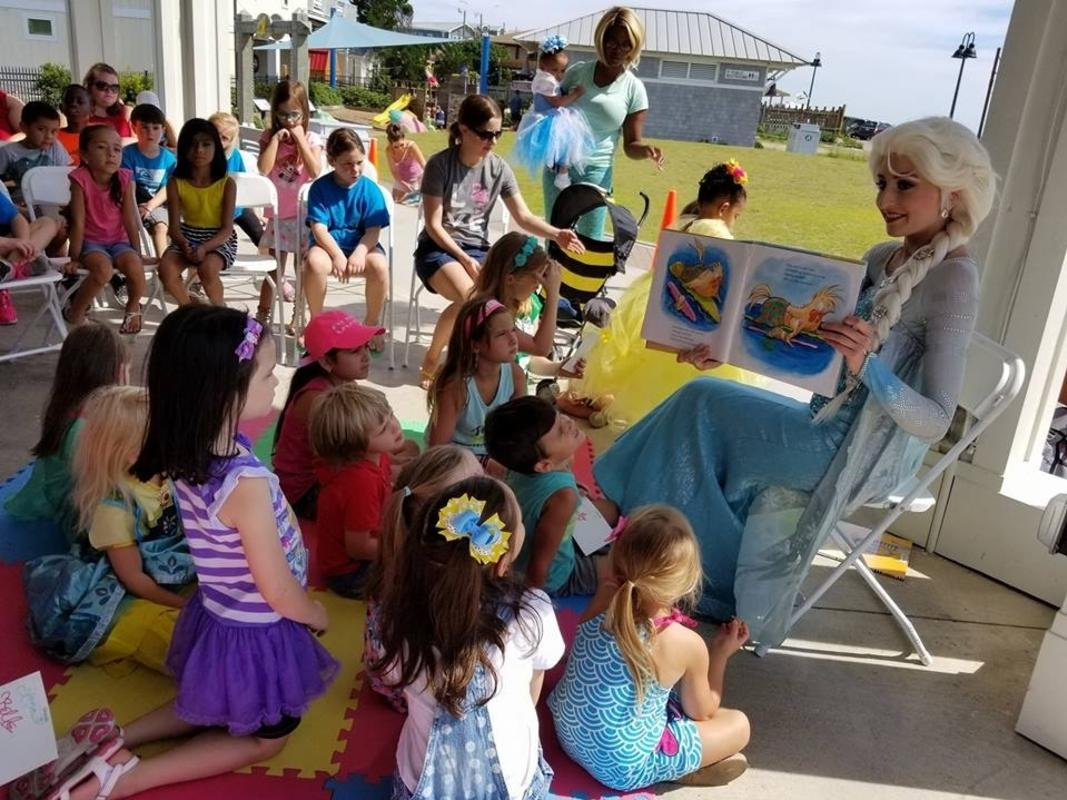 Copy of Story Time by the Sea