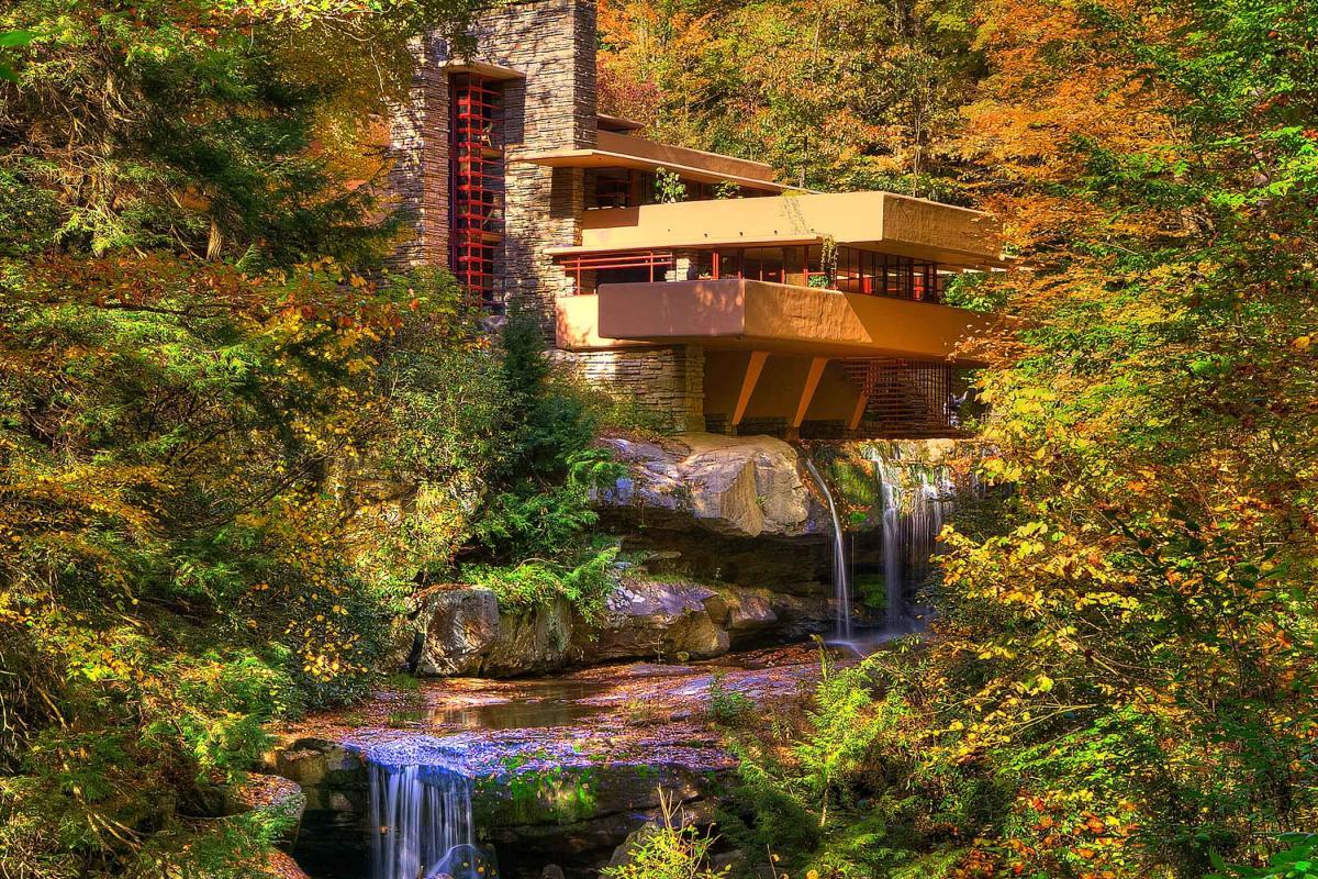 fall fallingwater