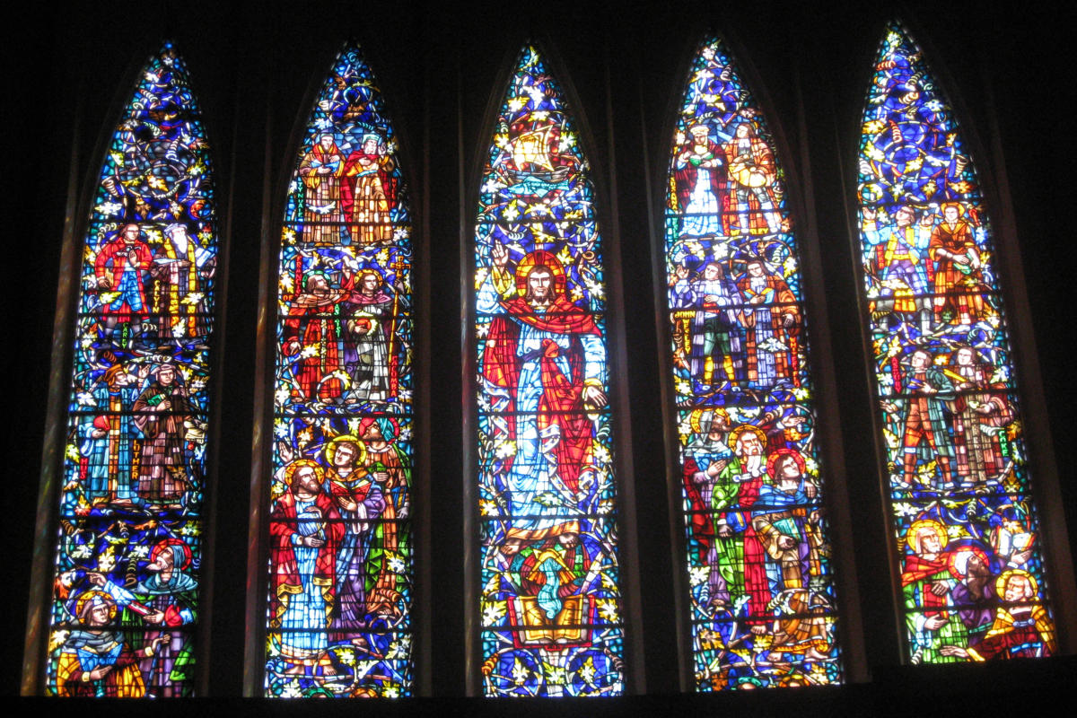 First United Methodist Beaumont - Stained Glass