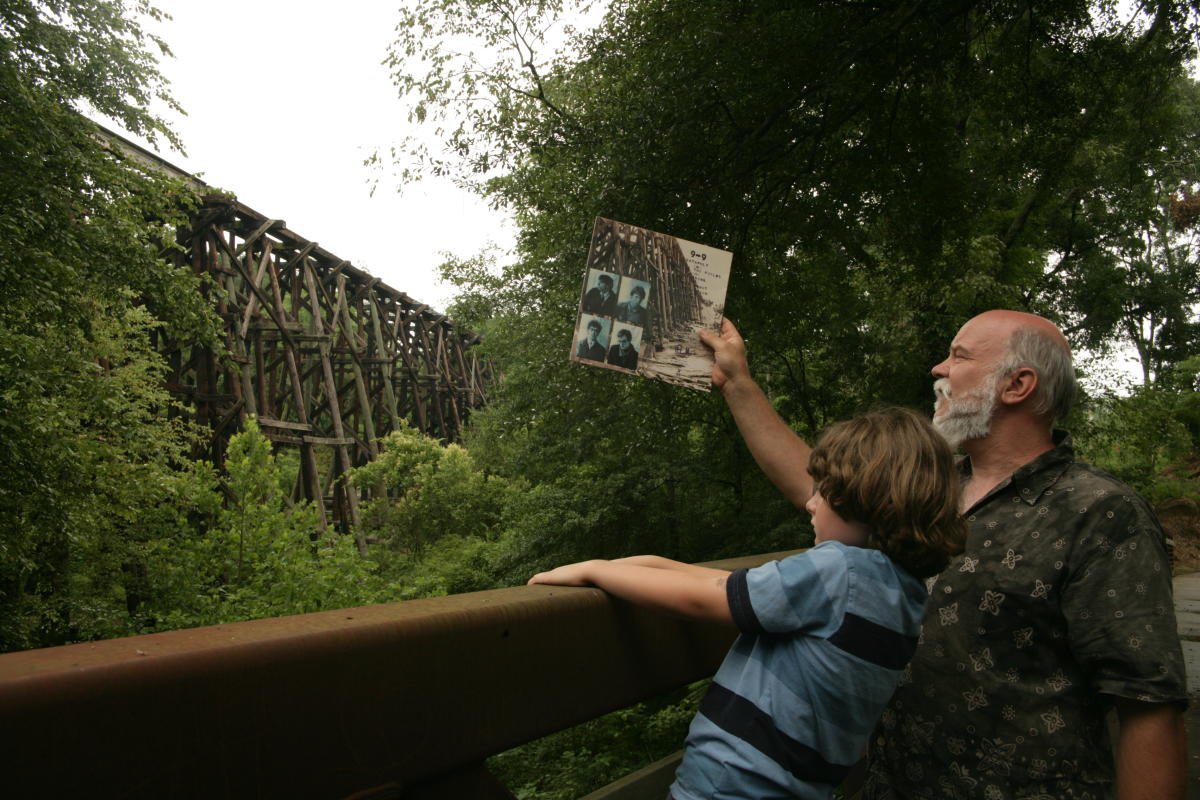 R.E.M. Murmur Trestle on Athens Music History Tour