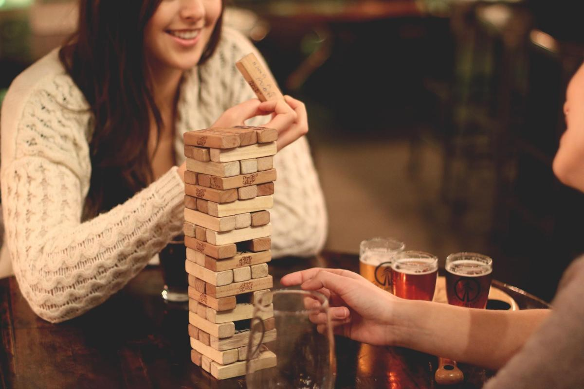Tree Brewing Jenga