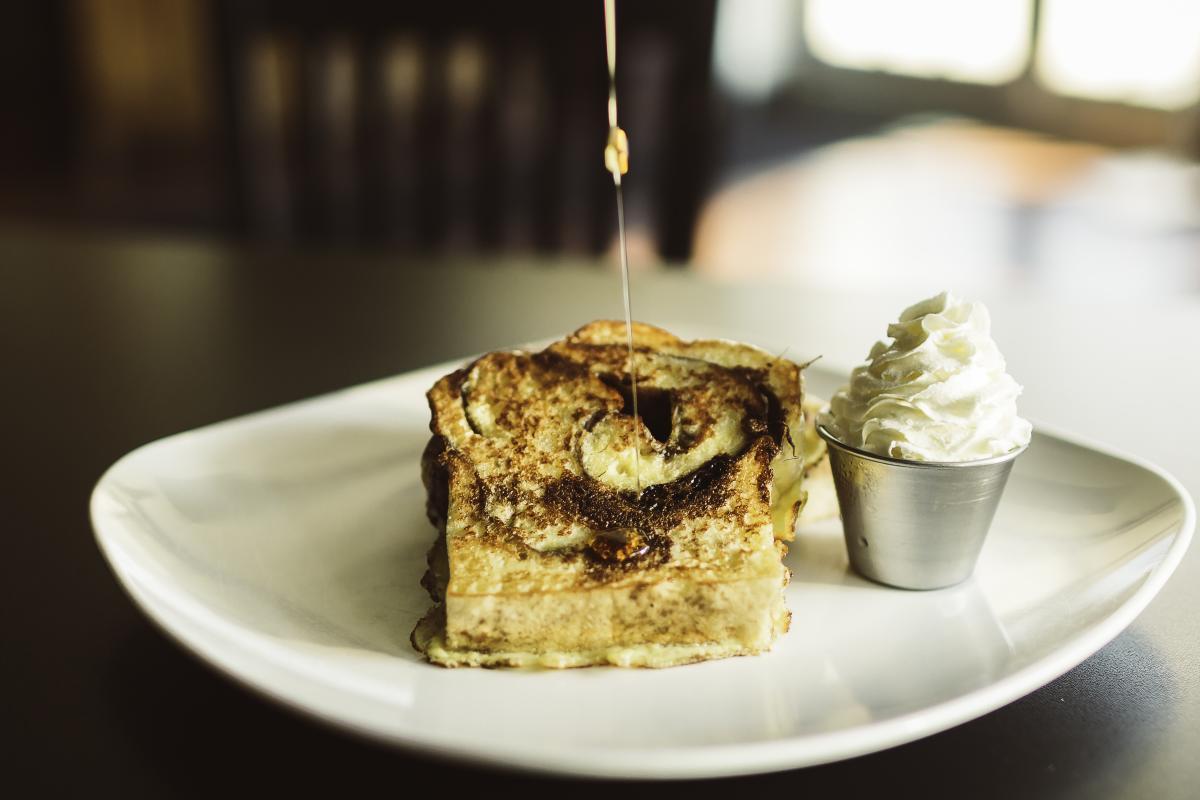 Cinnamon French Toast at The White Oak Tavern