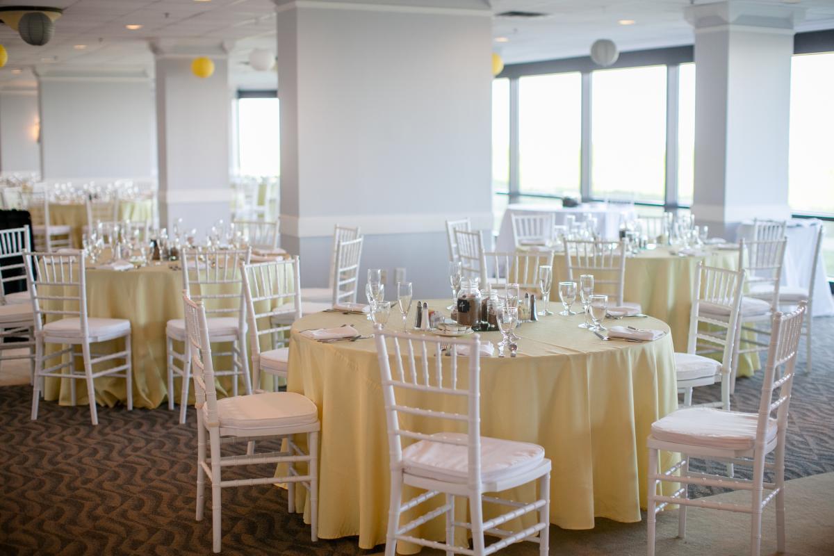 Shell Island Wedding Reception