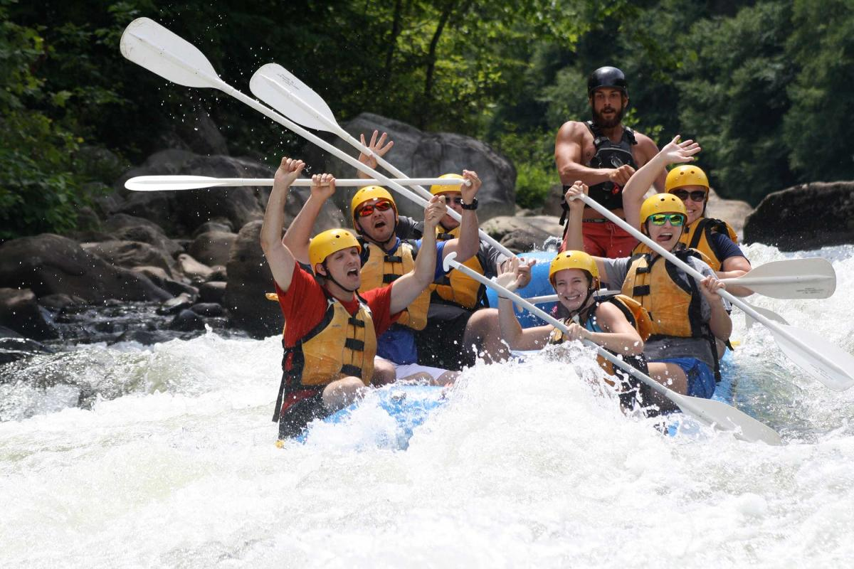 Whitewater Rafting Laurel Highlands