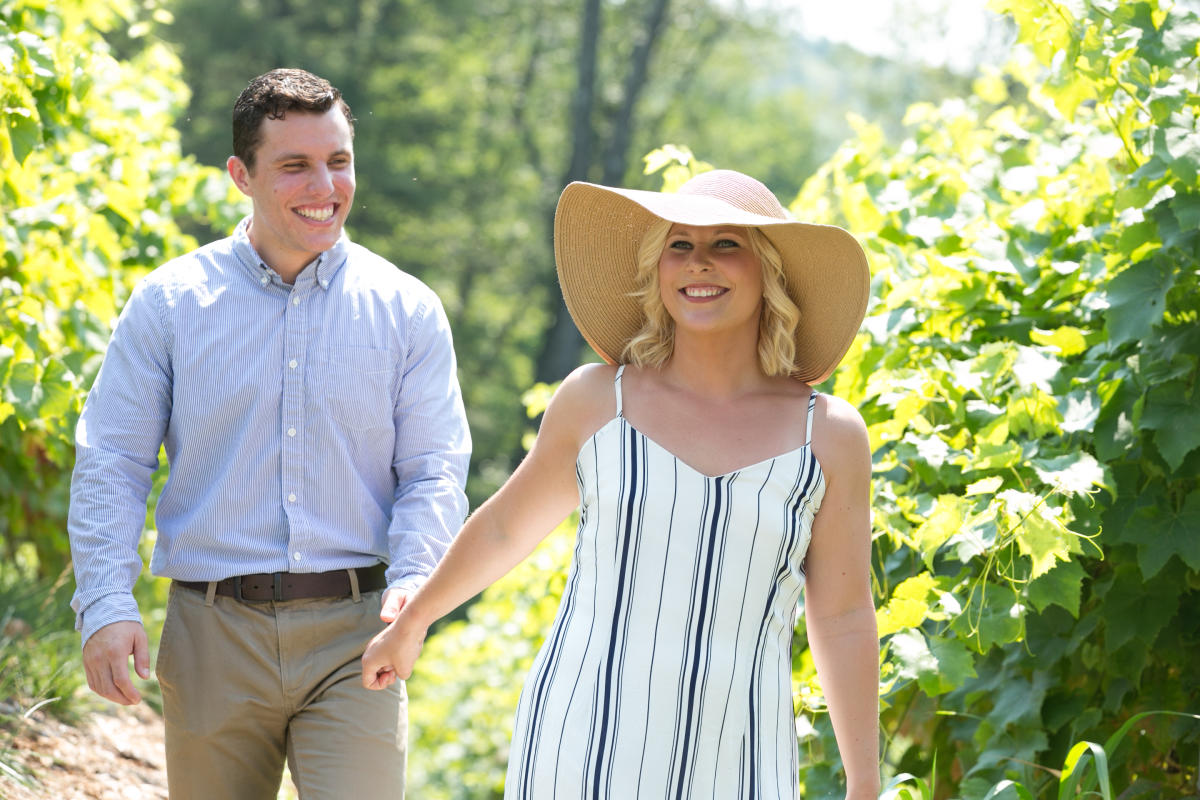 Explore A Vineyard in the Pocono Mountains