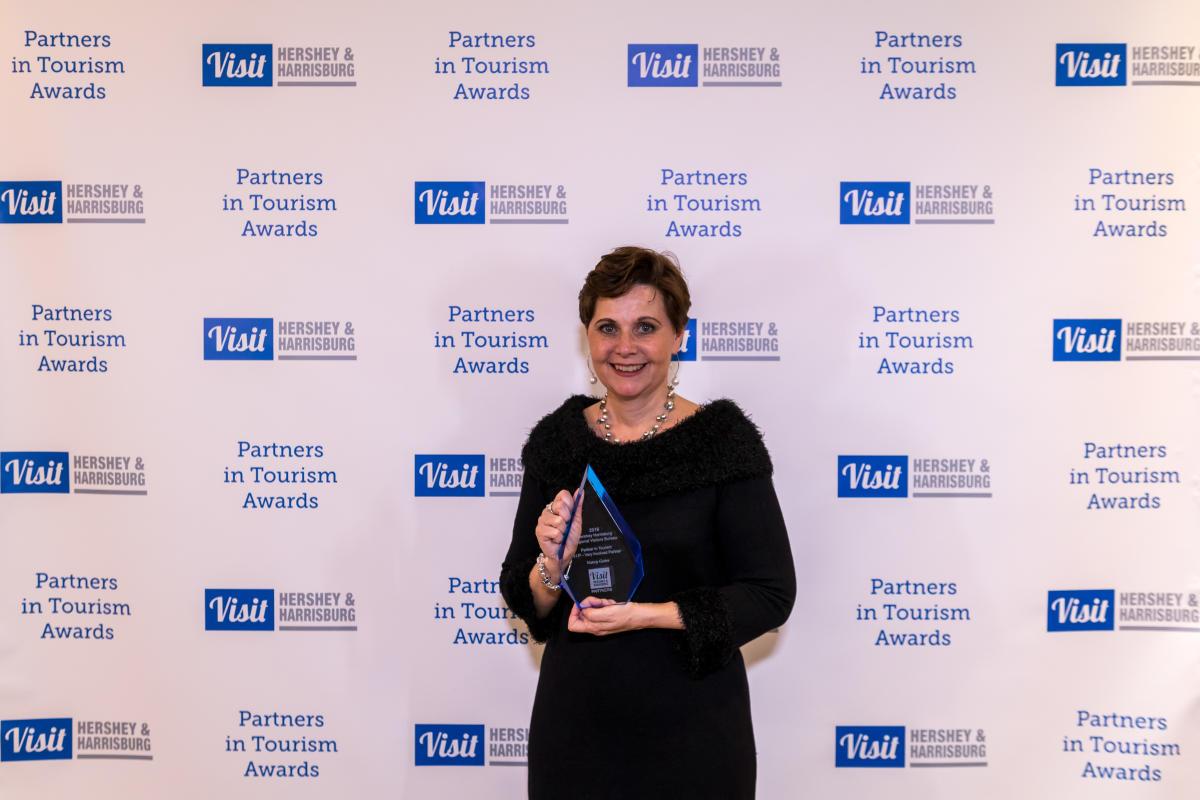 "Nancy Gates - Tourism Award Winner 2016 - ""VIP Award"""