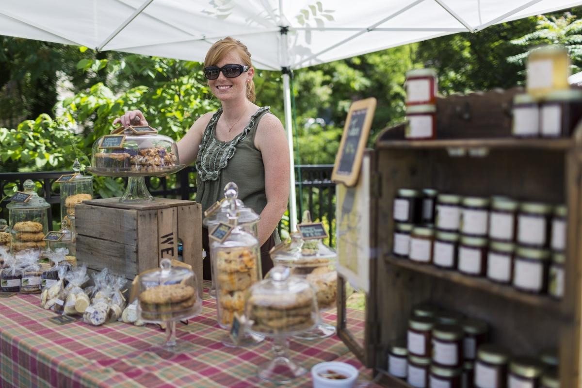 Old Ellicott City Farmer's Market Vendor