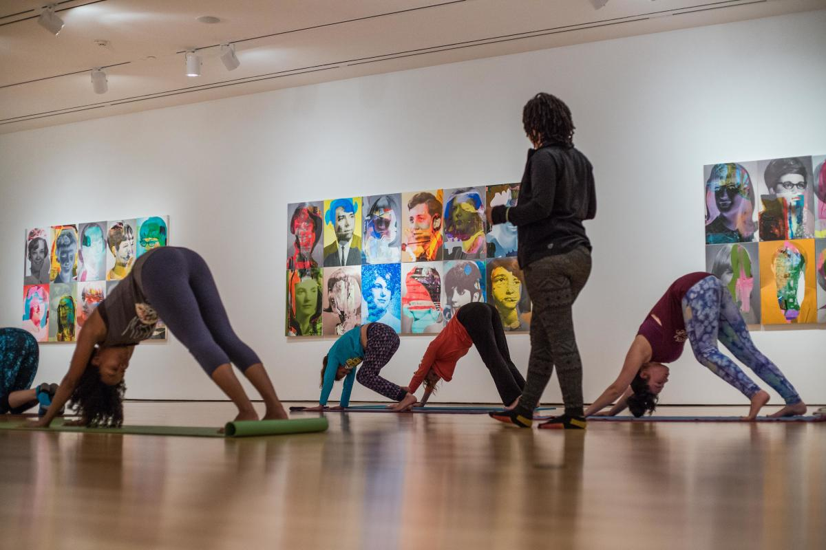 Yoga in the Galleries