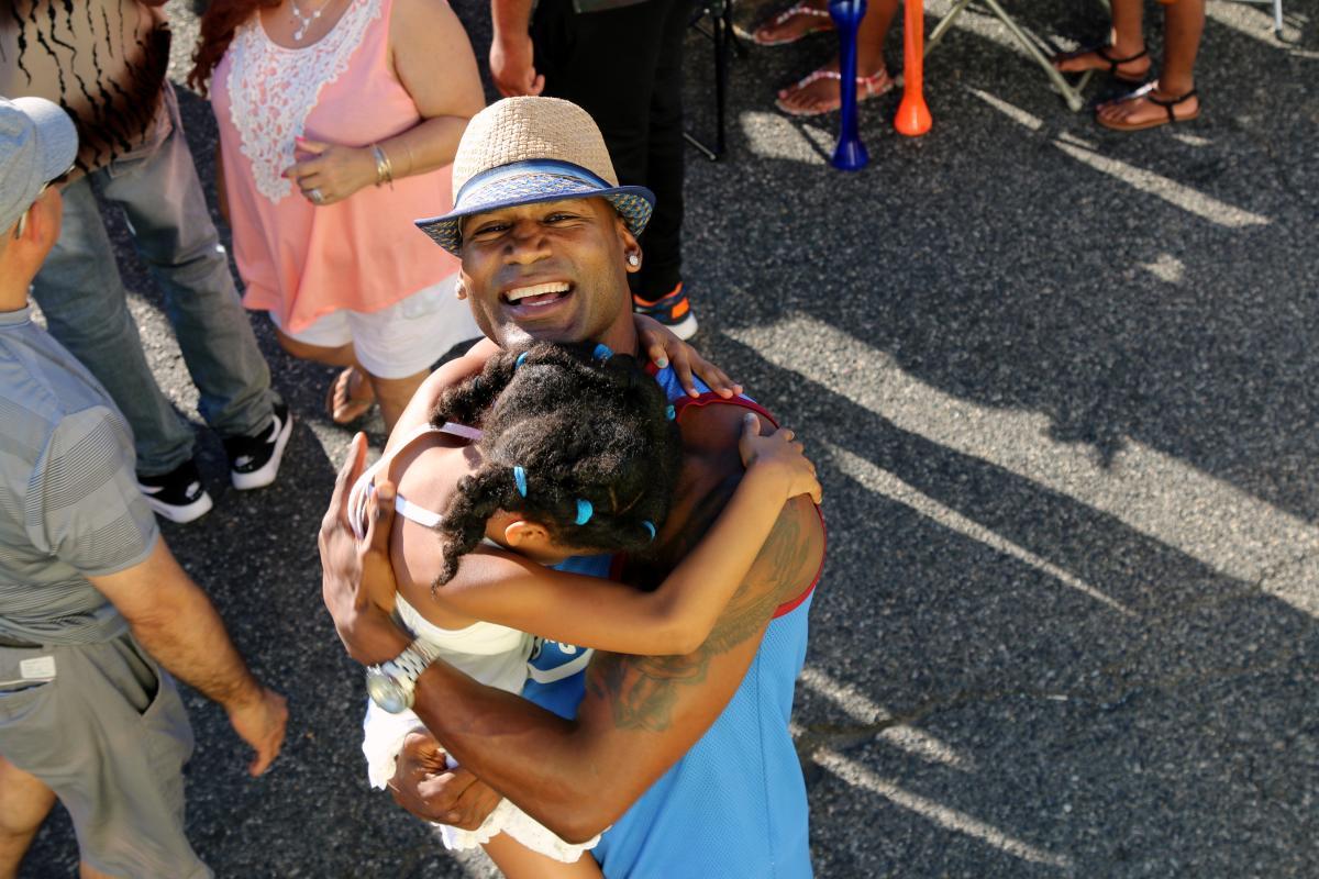 Man & Daughter Latin Fest