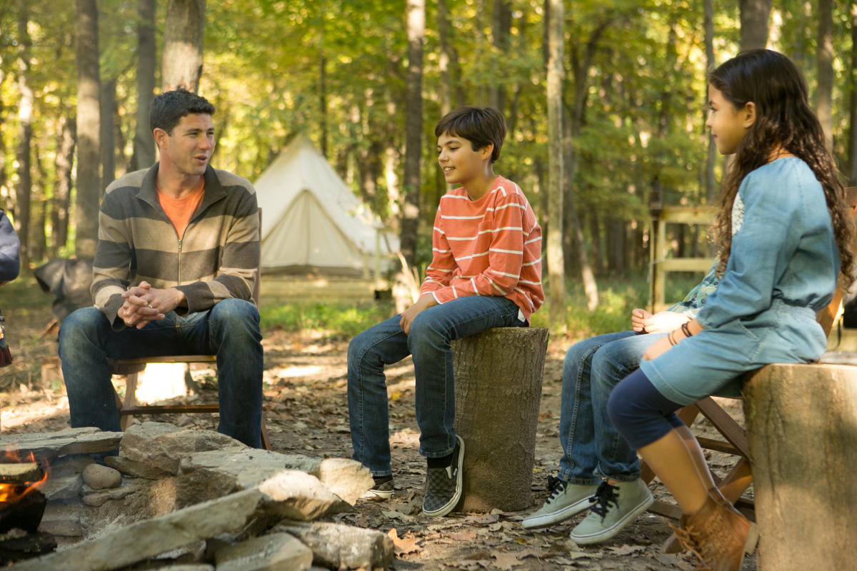 Family Fun Camping in the Pocono Mountains