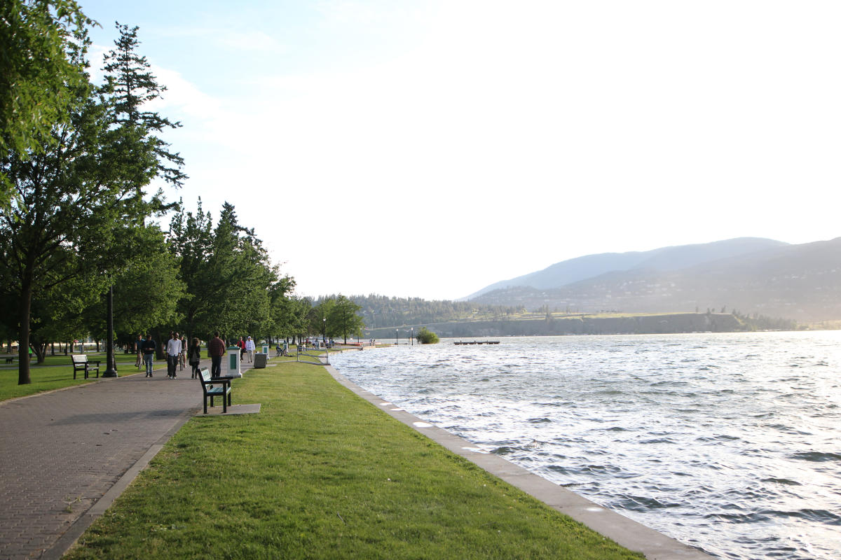 City Park Lakeside Walkway