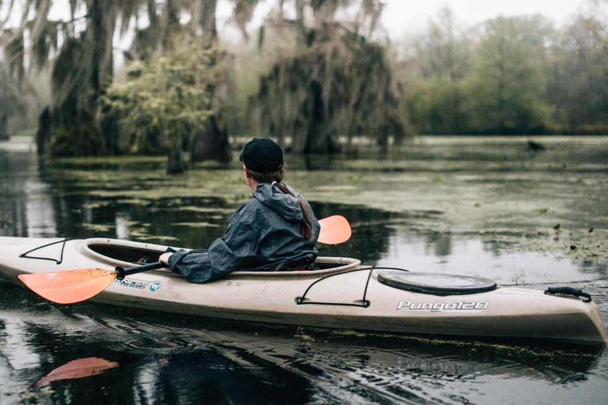 Kristie Cornell - Kayaking the Bayou Vermilion