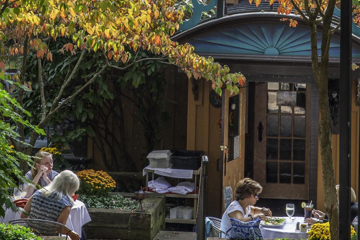 Skippack Village Dining in Fall