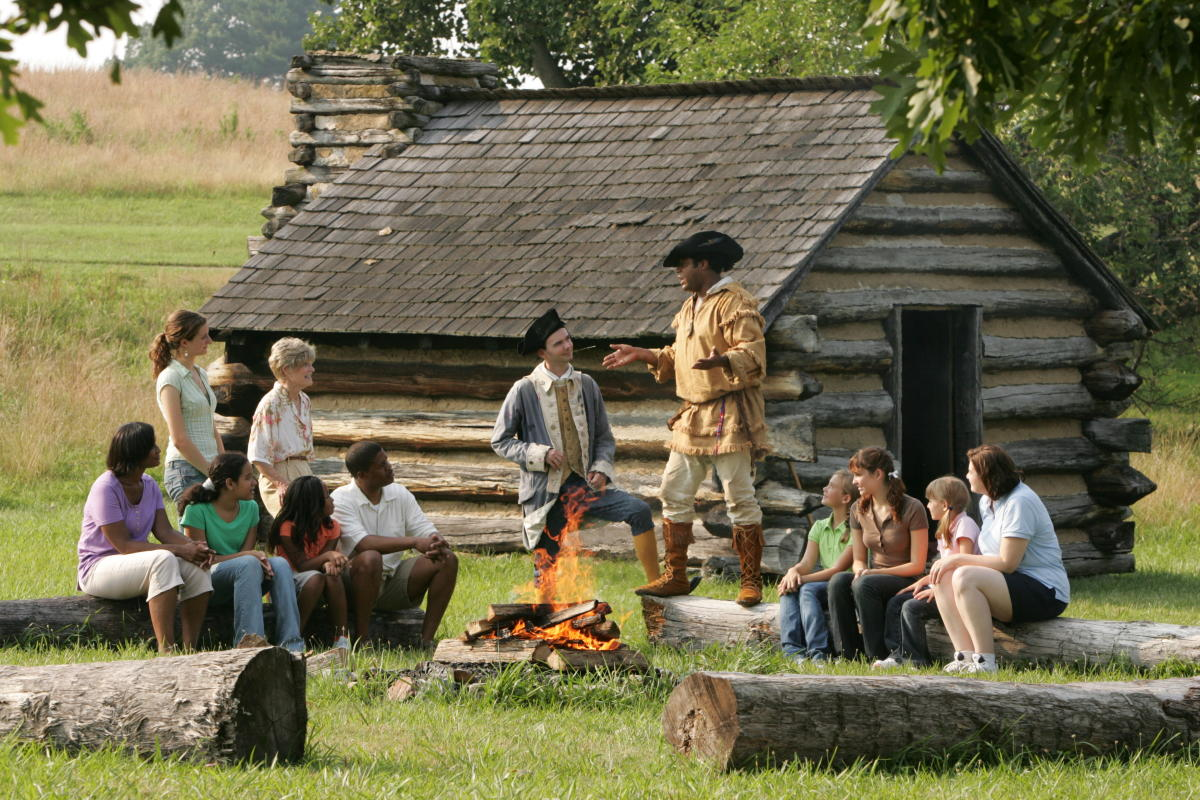Campfire Stories at Valley Forge Park
