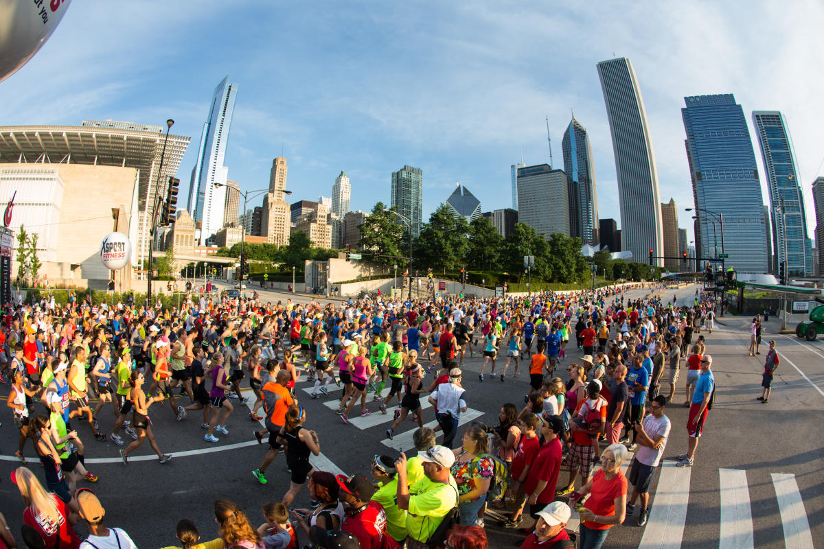Marathon in Chicago
