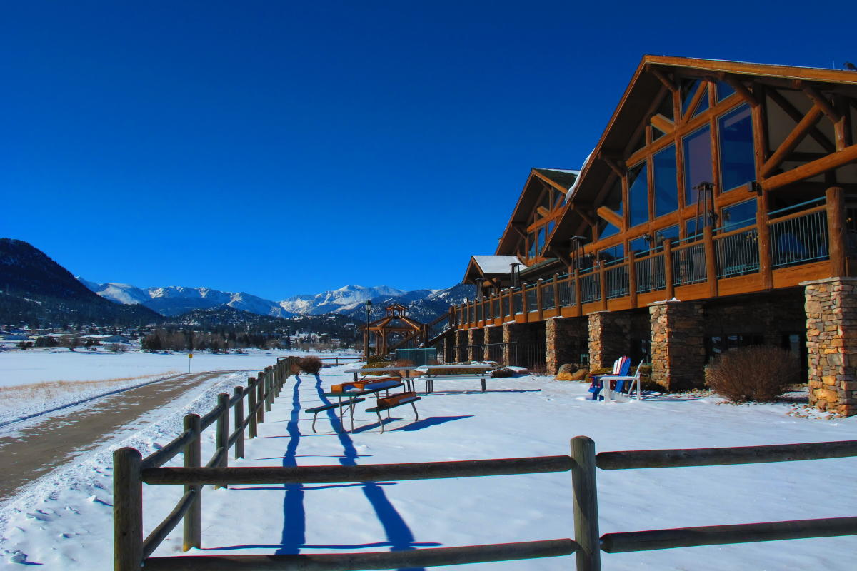 Estes Park Resort Winter