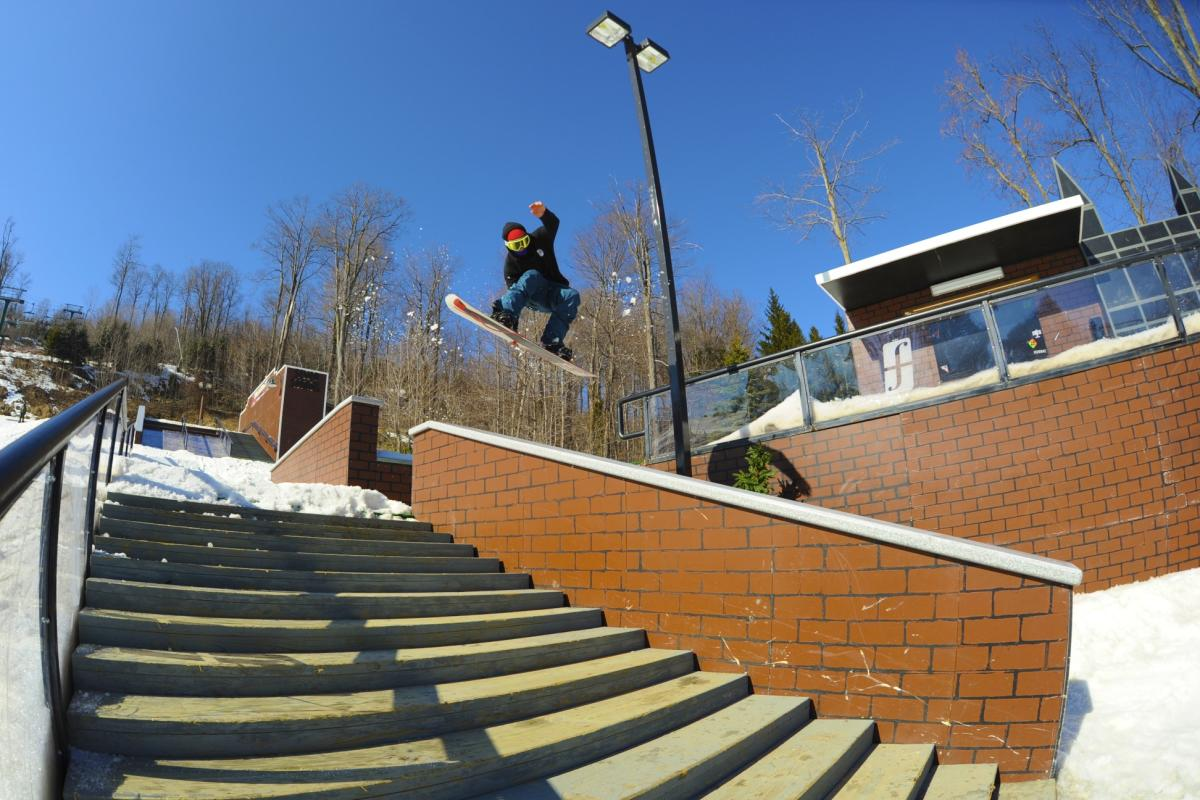 The Streets Terrain Park at Seven Springs