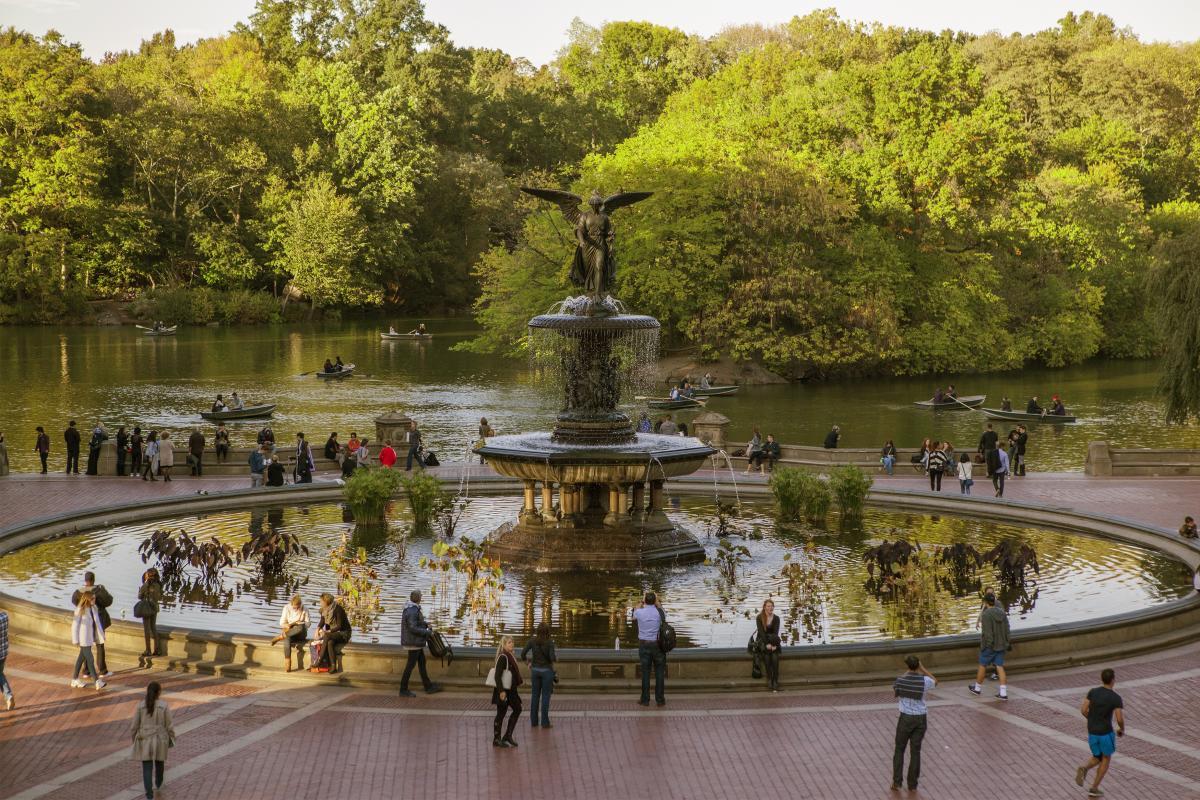 Bethesda Fountain. Photo by Christopher Postlewaite.