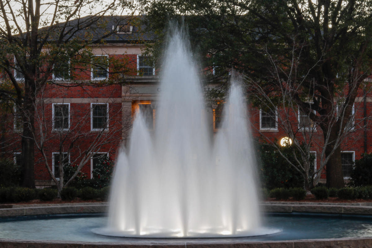 Herty Field Fountain