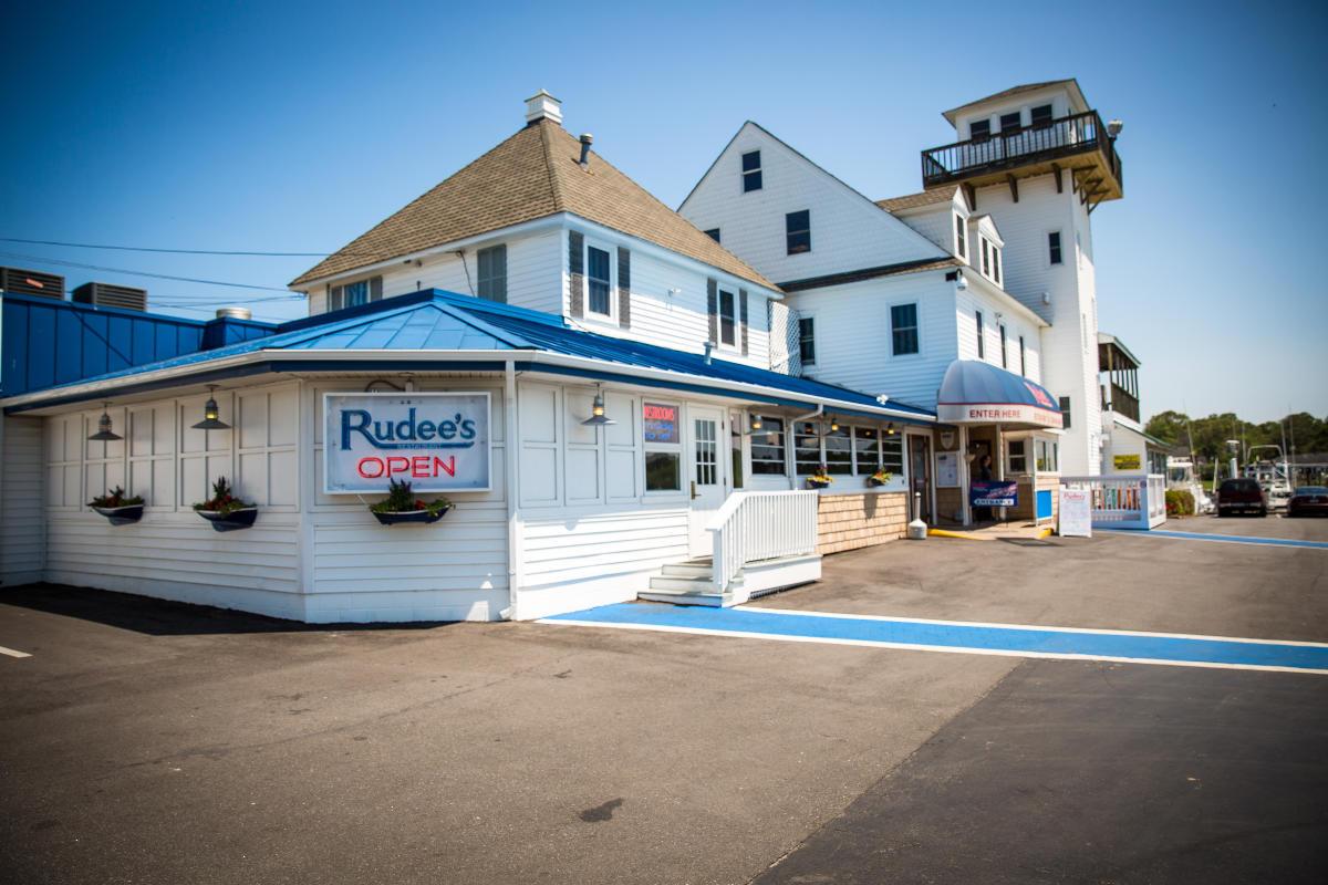Rudee's Restaurant in the Rudee Inlet