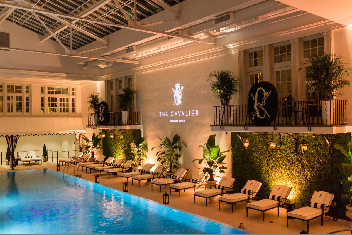 Cavalier Hotel Plunge Pool