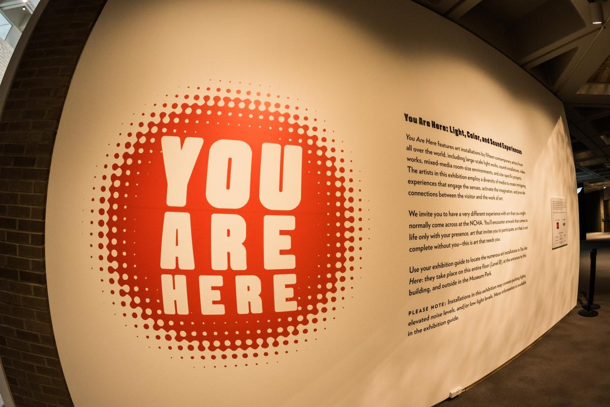 You Are Here NCMA