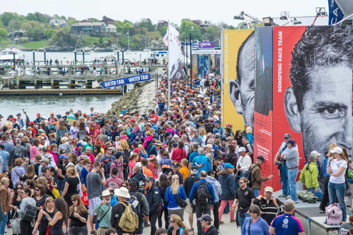 Volvo Race Village