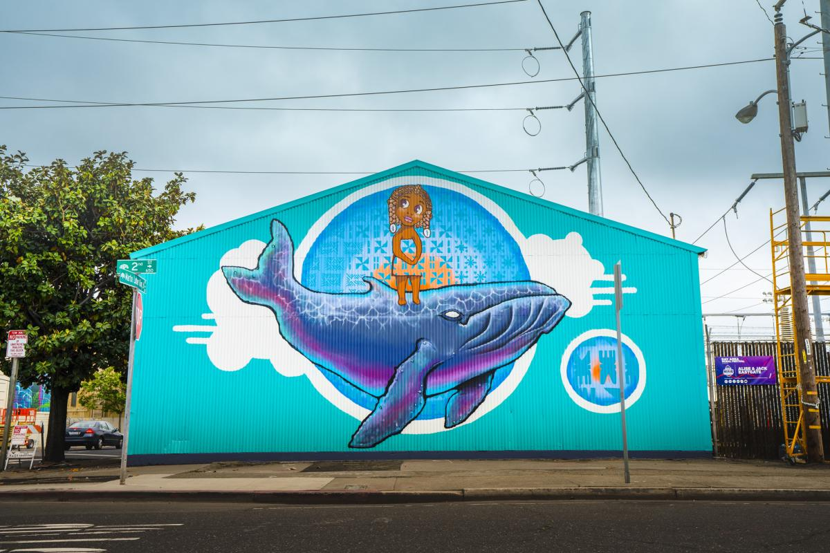 9 Art Installations From The Oakland Mural Festival