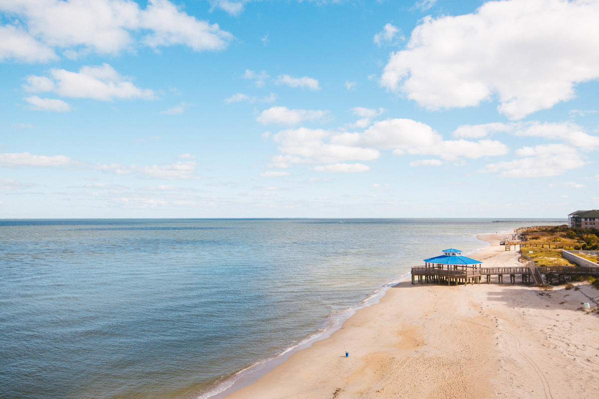 Chesapeake Bay Beach, Chic's Beach Virginia Beach