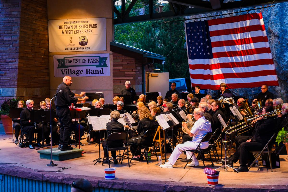 Village Band Patriotic Concert