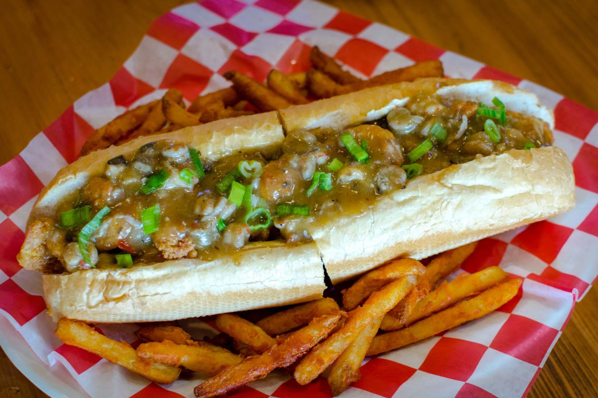 The Cajun Table Poboy