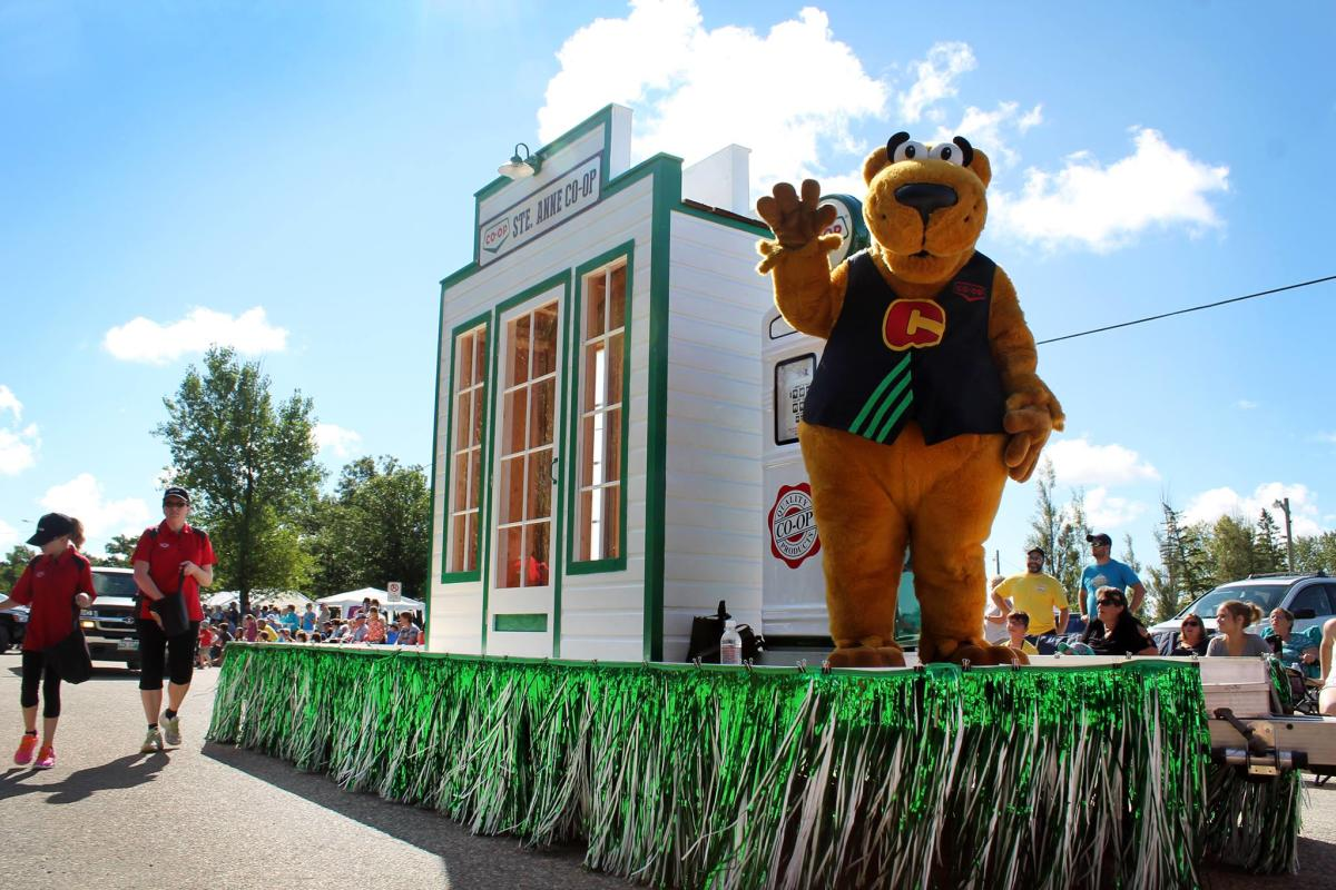 Kleefeld Honey Festival mascot