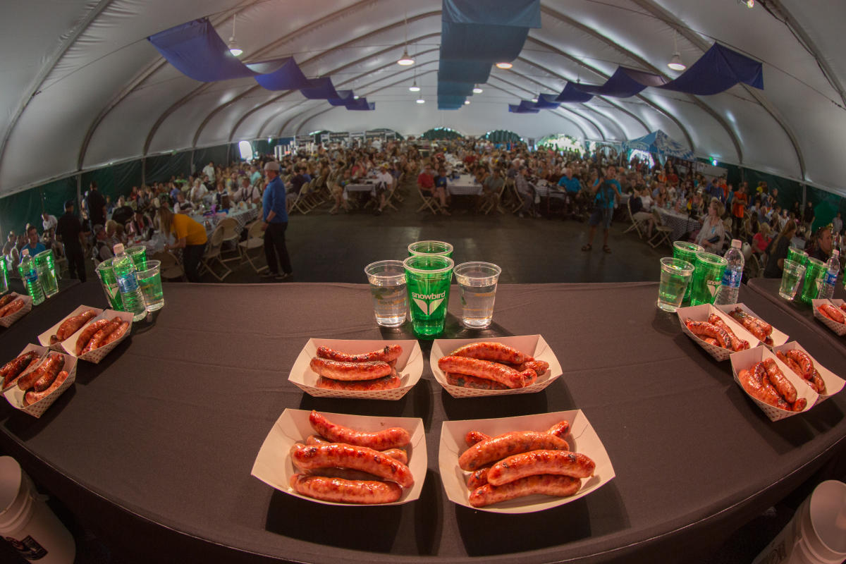 Bratwurst Eating Championship