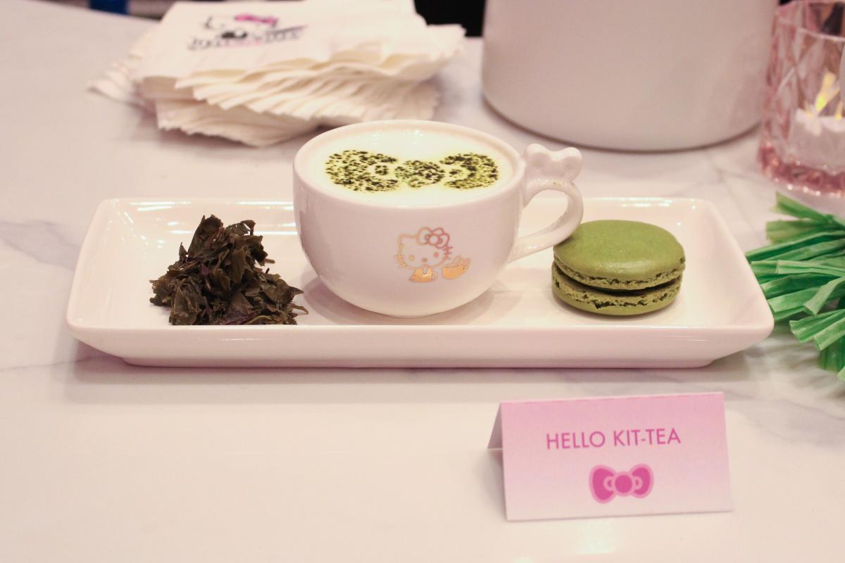 Hello Kit-Tea at Hello Kitty Cafe