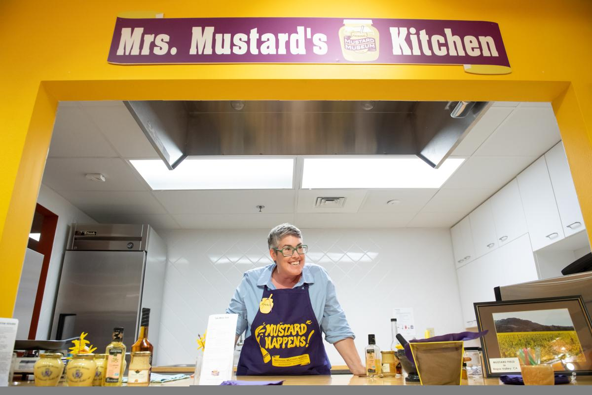 Mrs. Mustard's Kitchen at the National Mustard Museum