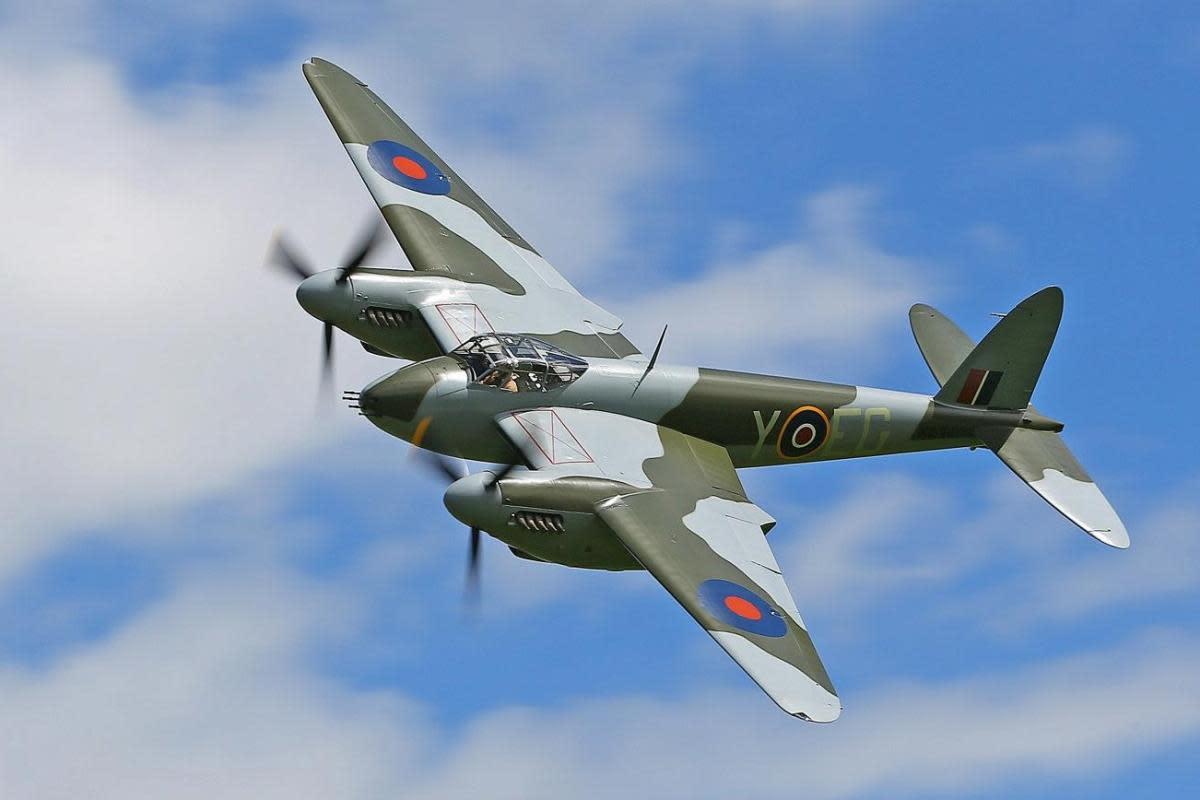 Virginia Military Aviation Museum De Havilland Mosquito