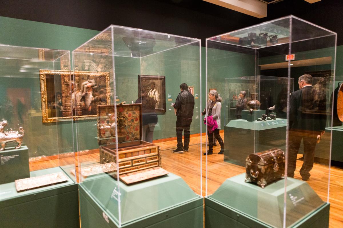 Visions of the Hispanic World Exhibit
