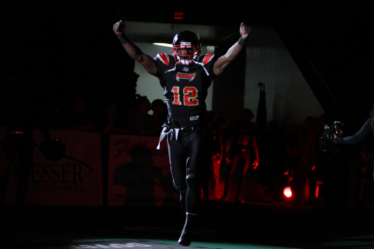 Amarillo Venom Football action shot