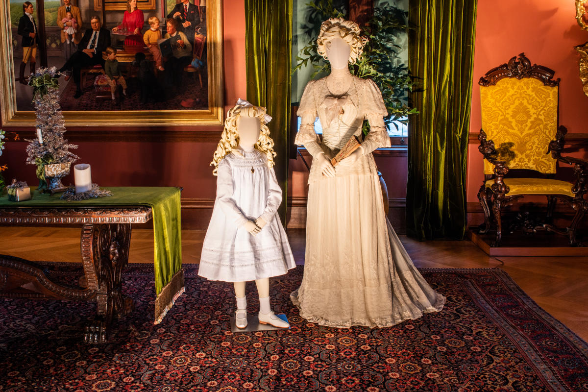 Gilded Age Costume Exhibit Preview at Biltmore