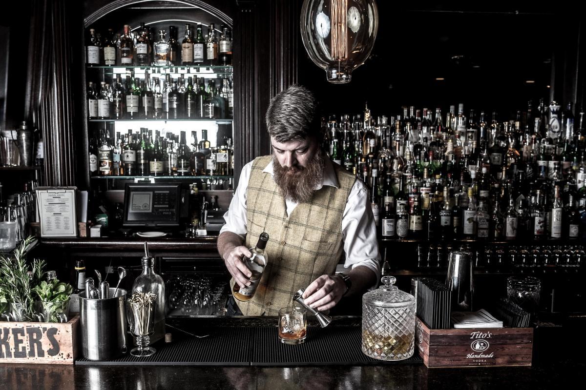 Hayride Scandal Bartender