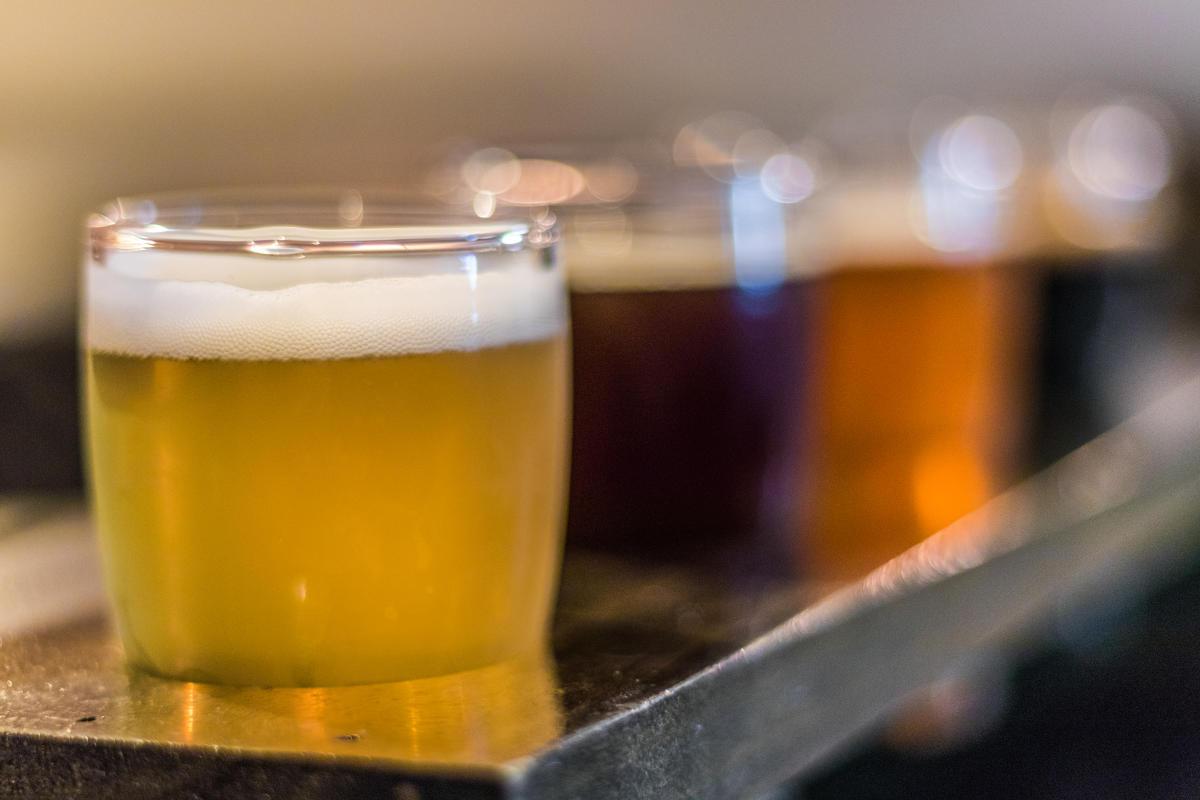Beer Flights at Proper Brewing