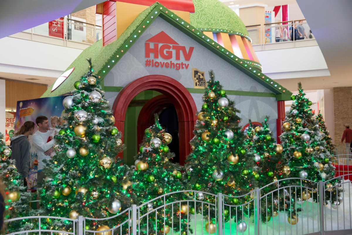 HGTV Santa HQ at Chandler Fashion Center