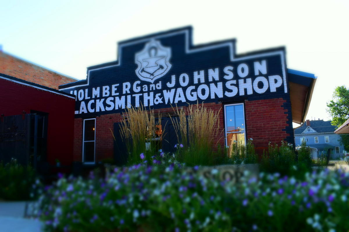 Blacksmith Coffee Store Front in Lindsborg, KS